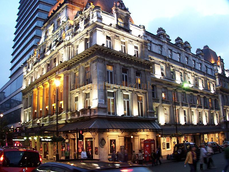 Her Majesty's Theatre during the run of 'The Phantom Of The Opera' in October 2006.