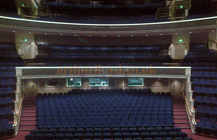 The auditorium of the Swan Theatre, High Wycombe in February 2013 - Courtesy Tim Speechley
