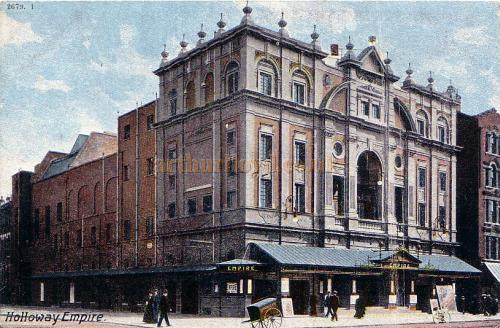 The Holloway Empire Theatre - From a postcard - 1904.