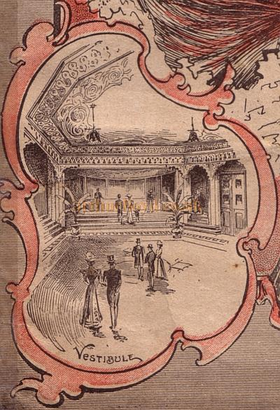 The Vestibule of the Holloway Empire - From a programme for a Music Hall show at the Theatre for the week beginning 29th of August 1904.
