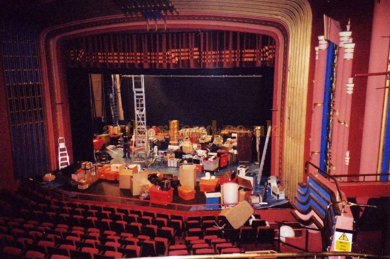 The Auditorium and Stage of the Horsham Arts Centre in 1984 - Courtesy the Capitol Theatre Archive.