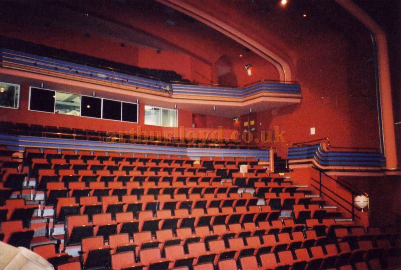 The Auditorium of the Horsham Arts Centre in 1984 - Courtesy the Capitol Theatre Archive.