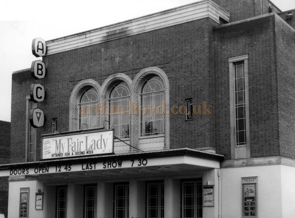 The ABC, Horsham during the run of the film 'My Fair Lady' in the 1960s - Courtesy the Capitol Theatre Archive.