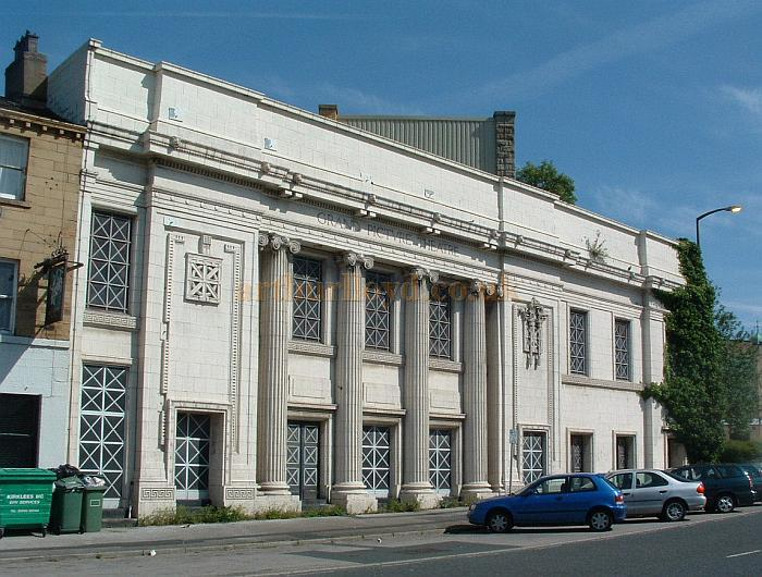 The Facade of the former Grand Picture Theatre, Huddersfield in 2009 - Courtesy John West
