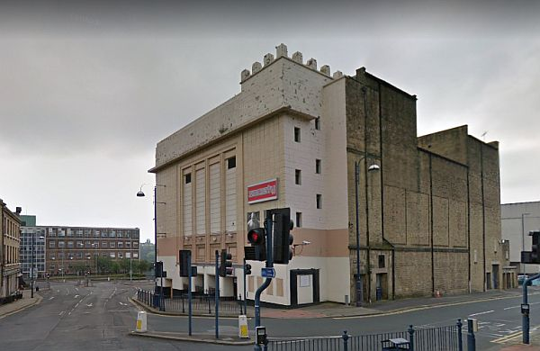 A Google Streetview Image of the Huddersfield Palace - Click to Interact.