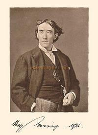 Sir Henry Irving, click for more information on this iconic Actor.