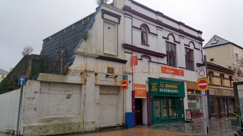 The former Bijou Theatre / Empire Theatre, Douglas, Isle of Man in February 2016 - Courtesy Trish McDonough.