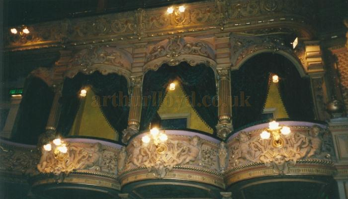 The Boxes at the Gaiety Theatre, Isle of Man - Courtesy David Garratt