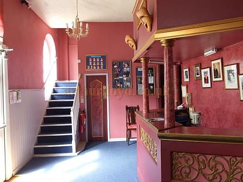 The foyer of the Apollo Theatre, Isle of Wight, in 2009 - Courtesy Mark Price - Theatres Trust.