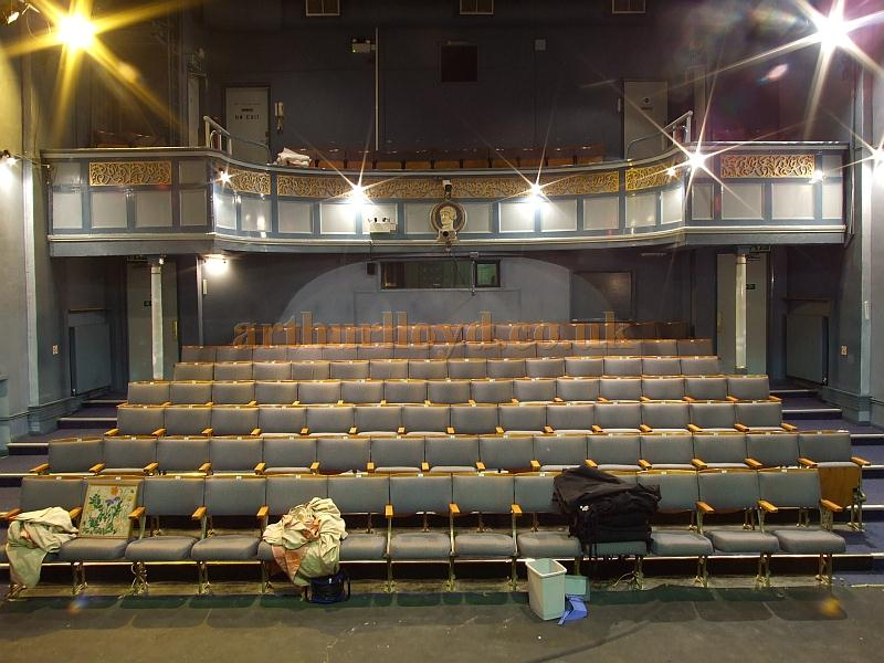The auditorium of the Apollo Theatre, Isle of Wight, in 2009 - Courtesy Mark Price - Theatres Trust.