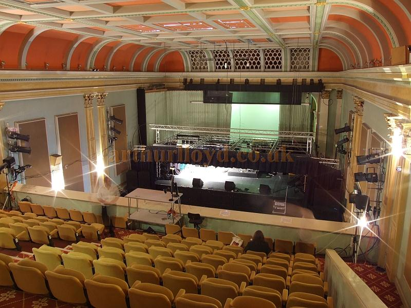 The auditorium and stage of the Ryde Theatre, Isle of Wight, in 2009 - Courtesy Mark Price - Theatres Trust