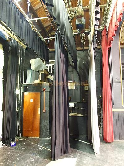 The Stage of the Trinity Theatre, Isle of Wight, in 2009 - Courtesy Mark Price - Theatres Trust.
