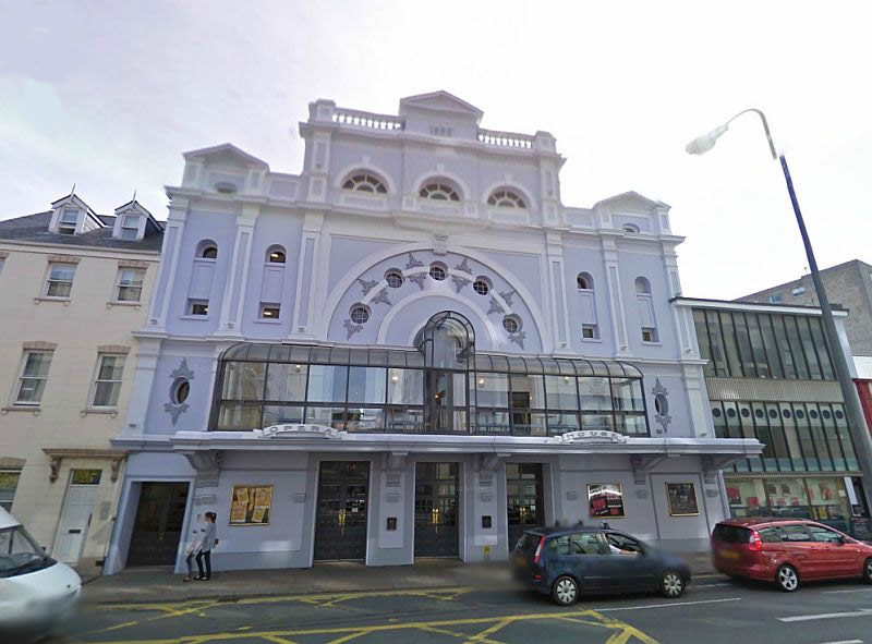 A Google StreetView Image of the Jersey Opera House today - Click to Interact