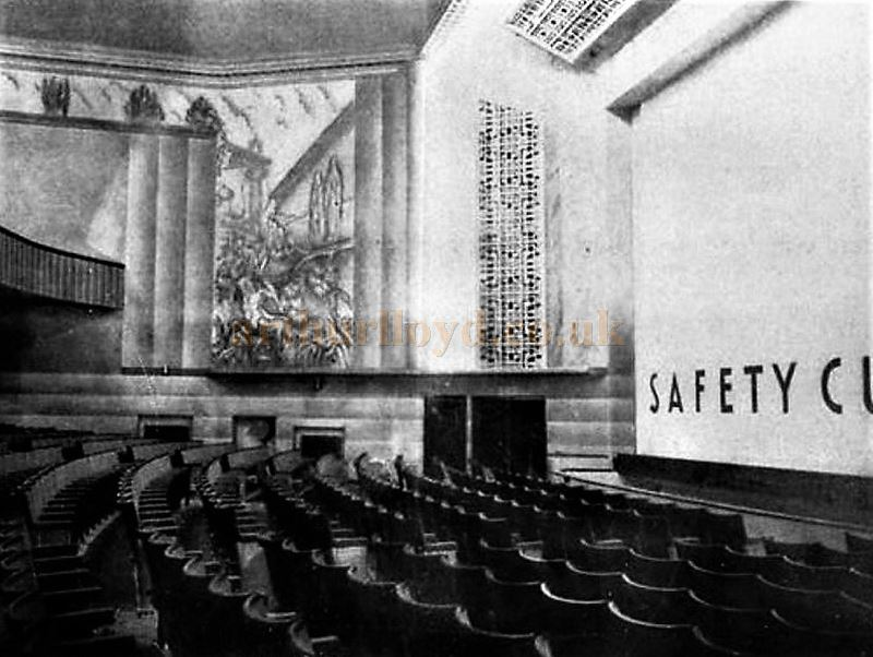 The Auditorium of the Savoy Theatre, Kettering - Courtesy Mike Blakemore.