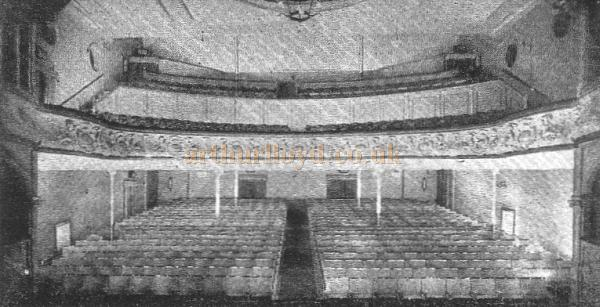 The Auditorium of the Playhouse, Kidderminster - From the Playhouse Souvenir Programme of November the 19th 1951 - Courtesy The Margaret & Brian Knight Collection.