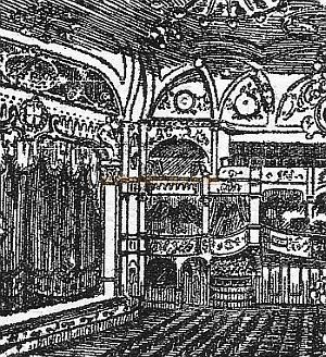 The Auditorium of the Kilburn Empire according to a Programme for the Theatre in 1919.