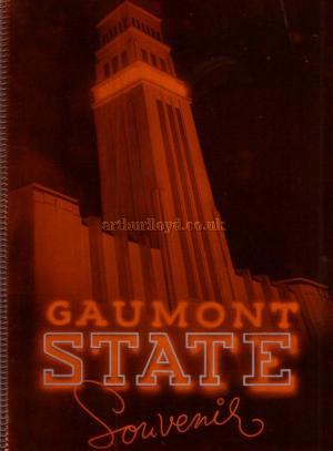 The Opening Night Souvenir Programme for the Gaumont State Theatre, Kilburn - Click to see Entire Programme.