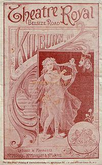 Programme for 'Sir Richard Whittington And His Cat' at the Theatre Royal, Kilburn in 1897. - Click to see the Entire Programme.
