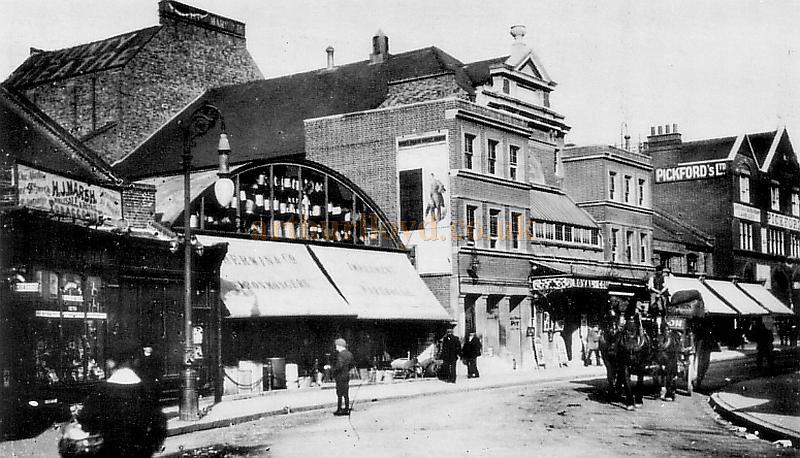 The Royal County Theatre, Kingston at the turn of the century - From a postcard