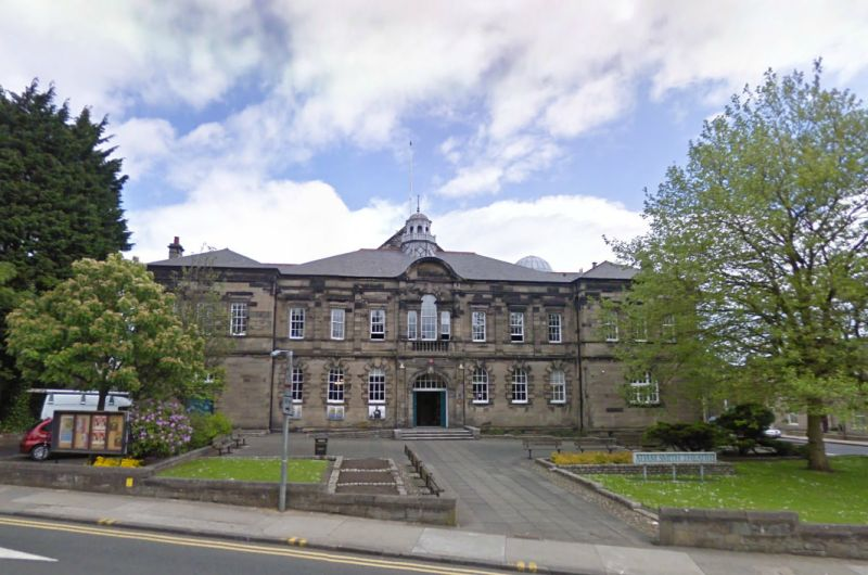 A Google StreetView Image of the Adam Smith Theatre - Click to Interact