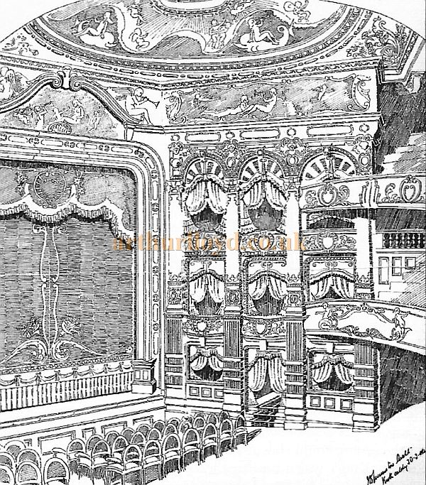 The auditorium of the King's Theatre, Kirkcaldy - Courtesy Bruce Peter.