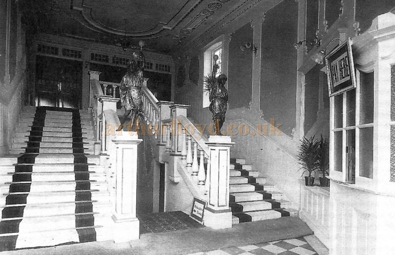 The Foyer of the King's Theatre, Kirkcaldy - Courtesy Bruce Peter