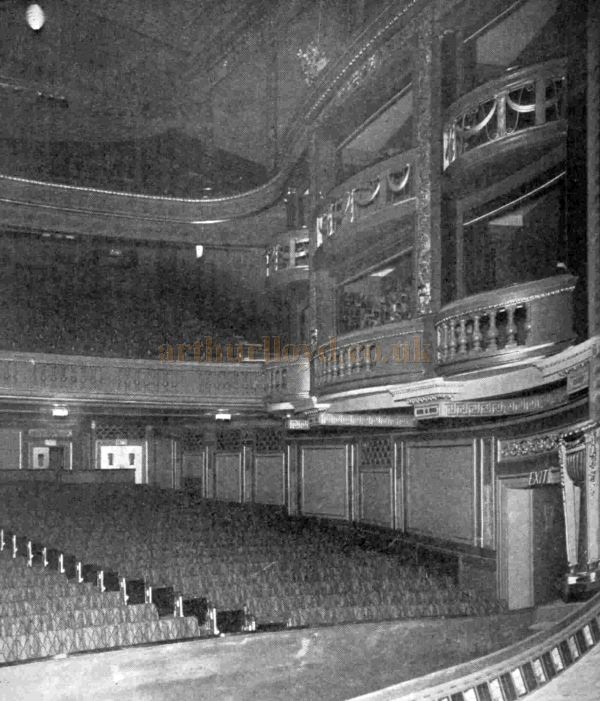The Auditorium of the Leicester Square Theatre on its opening in 1930 - From The Bioscope, 17th of December 1930.
