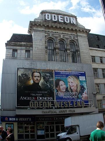 The Odeon West End in July 2009, formerly known as the Leicester Square Theatre. - Photo M.L.