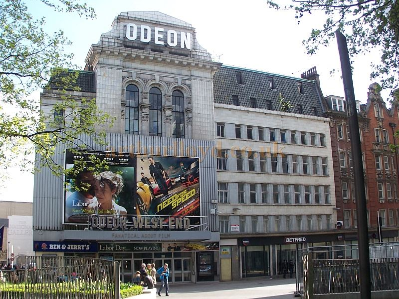 The Odeon West End, formerly the Leicester Square Theatre, in April 2014 - Photo M. L.