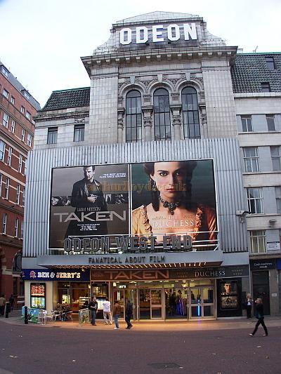 The Odeon West End, formerly the Leicester Square Theatre, in September 2008 - Photo M.L.