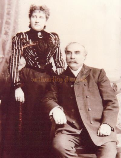 Jonathan Dewhurst and his wife Fanny Rivers - Courtesy Phillip & Sue Taylor.