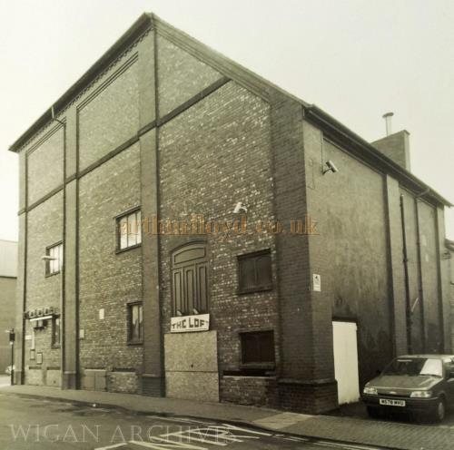 The Stage House of the 1901 Theatre Royal, Leigh - With kind permission Wigan Archive Services.