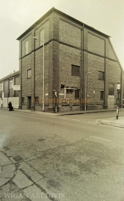 A Long view of the Stage House of the 1901 Theatre Royal, Leigh - With kind permission Wigan Archive Services.
