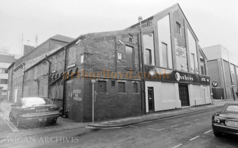 Ruebens  Nightclub at the former Theatre Royal, Leigh - With kind permission Wigan Archive Services.
