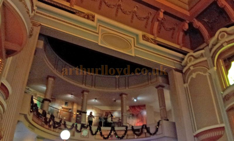 The former stage of the Palladium Theatre, Llandudno today in use as restaurant - Courtesy George Richmond.