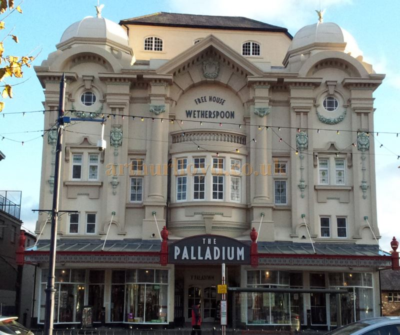 The Palladium Theatre, Llandudno today in use as a branch of Wetherspoon's - Courtesy George Richmond.