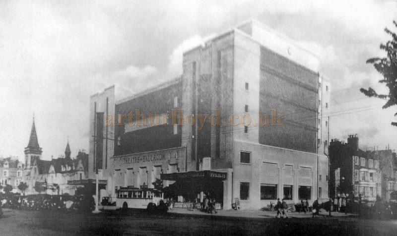 The Winter Gardens Cine Theatre in 1934 - With kind Permission Llandudno Library