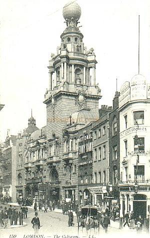 The London Coliseum from a real photograph early Postcard.