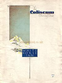 Programme for 'White Horse Inn' at The London Coliseum 1931 - Click to see Entire Programme - Warning Large Page.