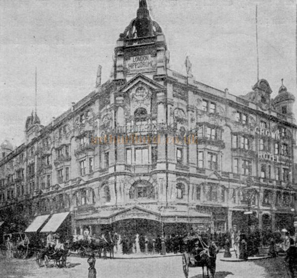 The London Hippodrome in its heyday - From a Programme for the Theatre in 1907