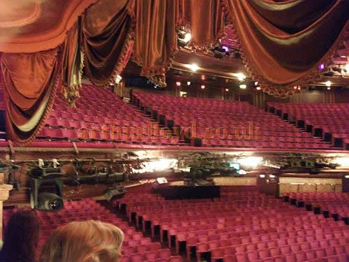 The auditorium of the London Palladium in a photograph taken in May 2011 - Courtesy Philip Marshall.