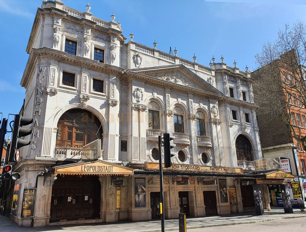 Wyndhams Theatre - on March the 23rd 2020 during the Coronavirus Pandemic - Photo M.L.