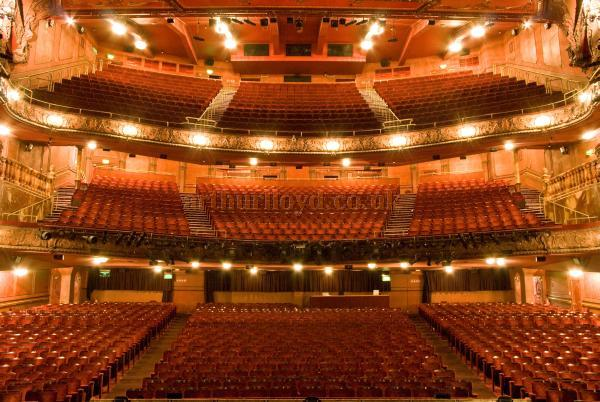 The Lyceum Theatre's 1996 restored Auditorium - Courtesy John Mann 08