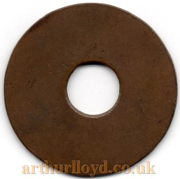 An early Entrance Token for a Box at the Theatre Royal English Opera House - Courtesy Alan Judd