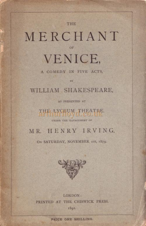 an analysis of the many great plays written by william shakespeare It was also the first of shakespeare's plays to be printed, in 1594 this publication is an indication of its great popularity it was only in the 18th and 19th centuries that titus andronicus fell out of favor with audiences, as the victorians in particular shared none of the elizabeth or jacobean love of gory theater.