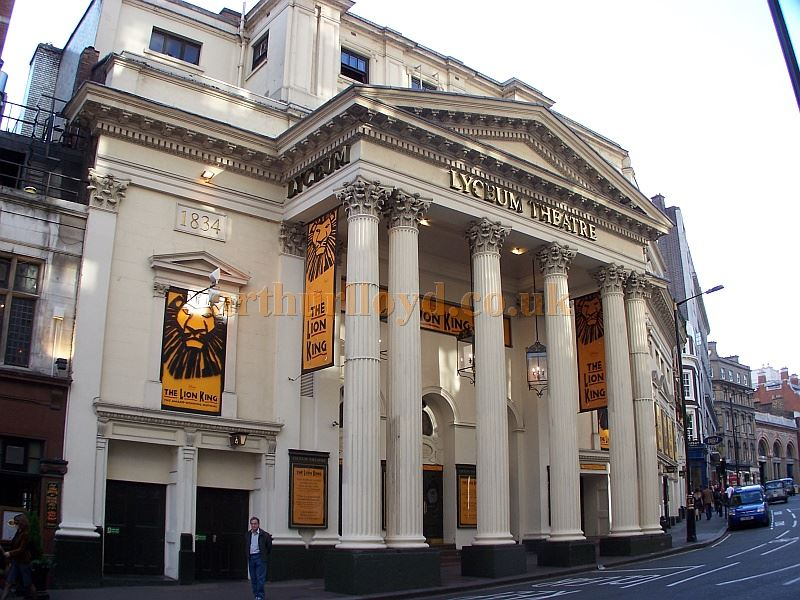 The Lyceum Theatre, London, during the run of 'The Lion King' - Photo M.L. 05.