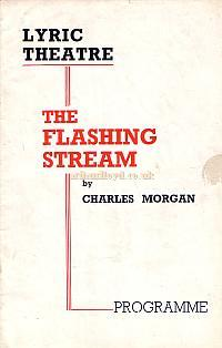 Programme for 'The Flashing Stream' at the Lyric Theatre in 1938 with Godfrey Tearle and Margaret Rawlings, which ran for 201 performances.