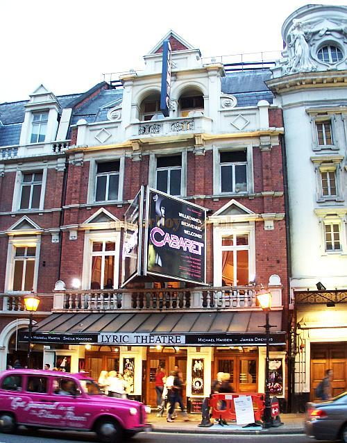 The Lyric Theatre during the run of 'Cabaret' in October 2006. - Photo M.L.