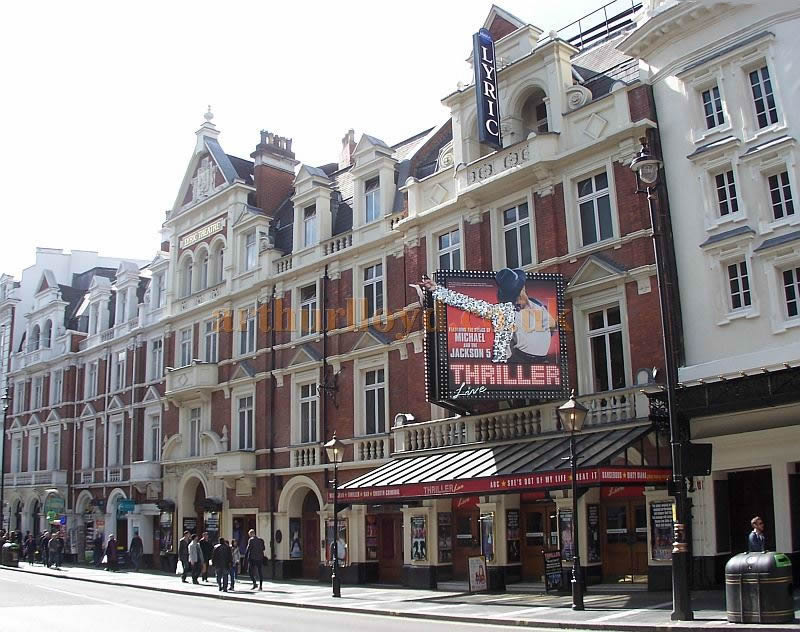 The Lyric Theatre during the run of ''Thriller' in April 2014 - Photo M. L.
