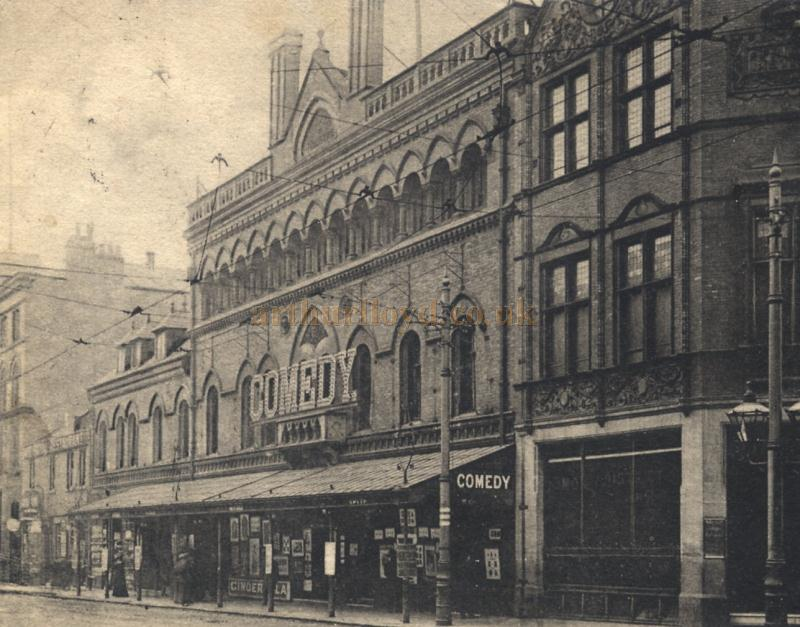 The Gaiety Theatre, Peter Street, Manchester - Formerly - The Comedy ...